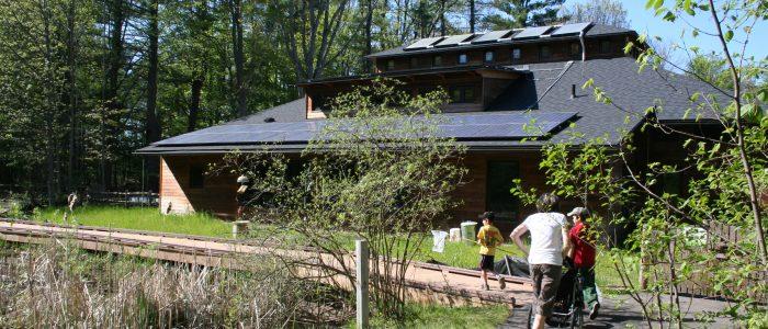 The Chippewa Nature Center in Midland, Michigan, operates a nature-based preschool.
